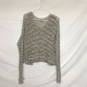 Ecote Cropped knit sweater